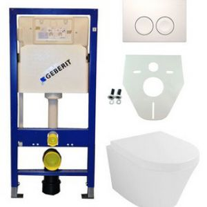 Geberit UP 100 Vesta wc+zitt.+ Delta 21 wit